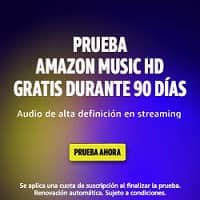 Prueba Amazon Music 3 Meses gratis